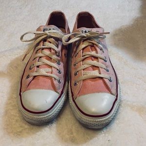 Converse Pink All Star Tennis Shoes